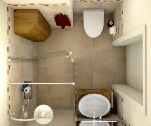 варианты дизайна ванных комнат фото 4.35 кв метров